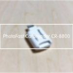 【レビュー】PHOTO FAST カードリーダー PhotoFast Cardreader CR-8800|iPhoneで外部データを読み書きできるmicroSDリーダーの紹介