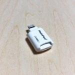 【ウラチェックレビュー】PHOTO FAST カードリーダー PhotoFast Cardreader CR-8800|iPhoneで外部データを読み書きできるmicroSDリーダーの紹介