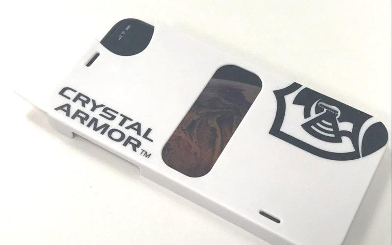【ウラチェックレビュー】CRYSTAL ARMOR iPhone XS / X 強化ガラス 液晶保護フィルム 抗菌耐衝撃ガラス 0.33mm の紹介