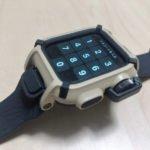 【ウラチェックレビュー】エレコム NESTOUT Apple Watch Series 4 バンドケース〔ネストアウト〕タフに使える耐衝撃設計のアウトドア用Apple Watchバンドの紹介
