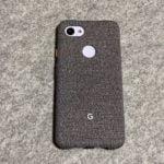 【ウラチェックレビュー】Google Pixel 3a XL ケース Fog(グーグル ピクセル) |ファブリック素材で手触りが良く、純正ならではのケースの紹介