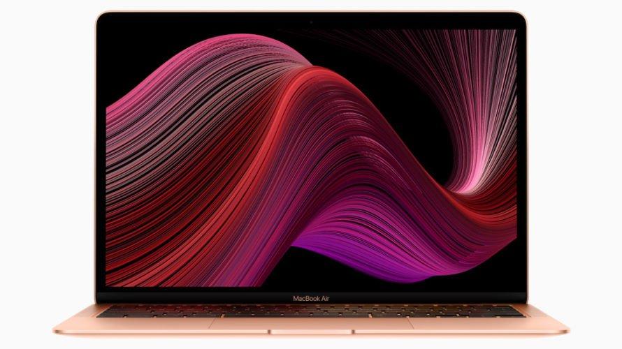 【新製品】104,800円とお求めやすい13インチのMacBook Airを、アップルが発表