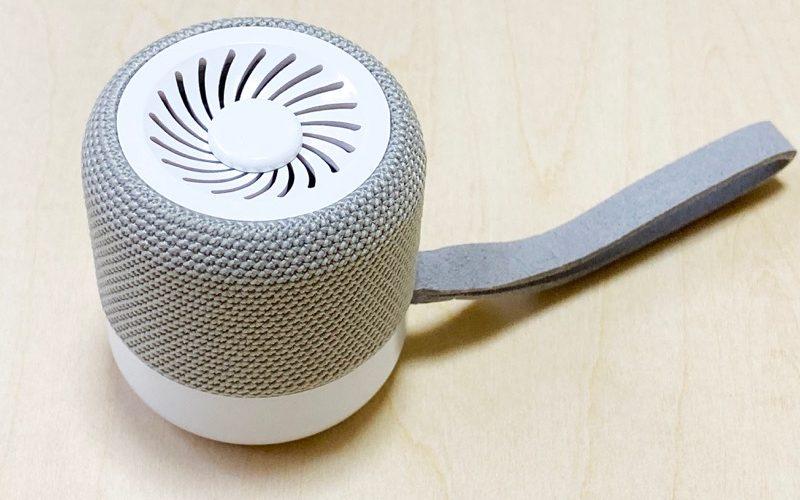 【ウラチェックレビュー】KiWi Q1 TWS Bluetooth スピーカー |超小型ながらも3Wの出力があるカラフルなBluetoothスピーカーの紹介