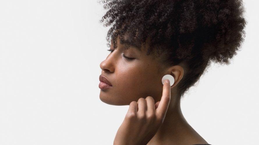 【新製品】デザインが特徴的なワイヤレスイヤフォンSurface Earbudsを、マイクロソフトが発売