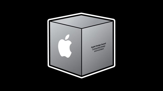 【ニュース】Appleが、Apple Design Award 受賞を発表