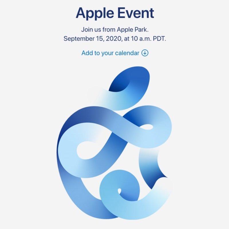 【ニュース】アップルが、日本時間 9月16日(水)午前2時にイベントを開催