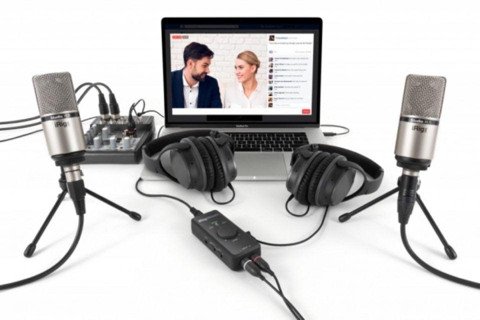 【新商品】ストリーミング配信のために設計したオーディオインターフェイス「iRig Stream」を発売