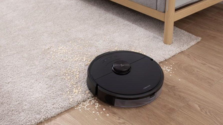 【新商品】二眼カメラで電源ケーブルを認識・回避、見守りカメラとしても使えるロボット掃除機「Roborock S6 MaxV」を発売