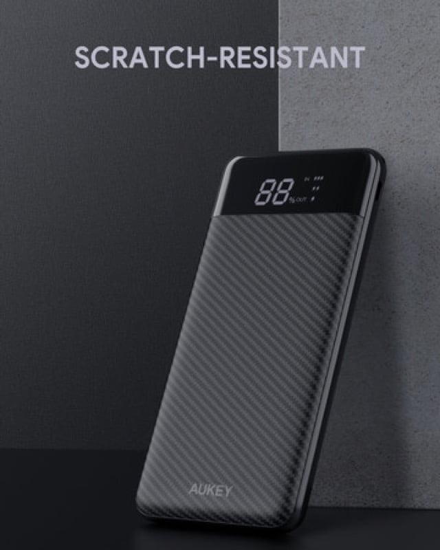 【セールニュース】液晶LCDディスプレイ搭載の10000mAh大容量モバイルバッテリー「AUKEY PB-Y33」が30%オフ