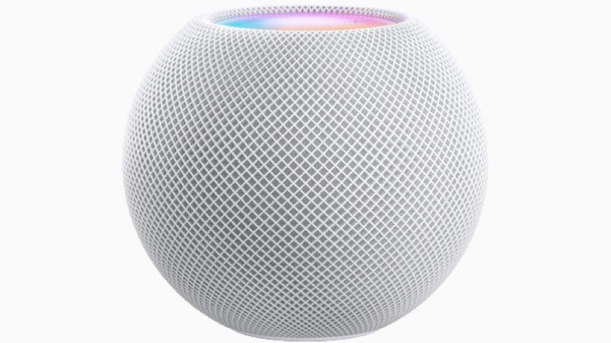 【新製品】HomePod miniを、アップルが発表