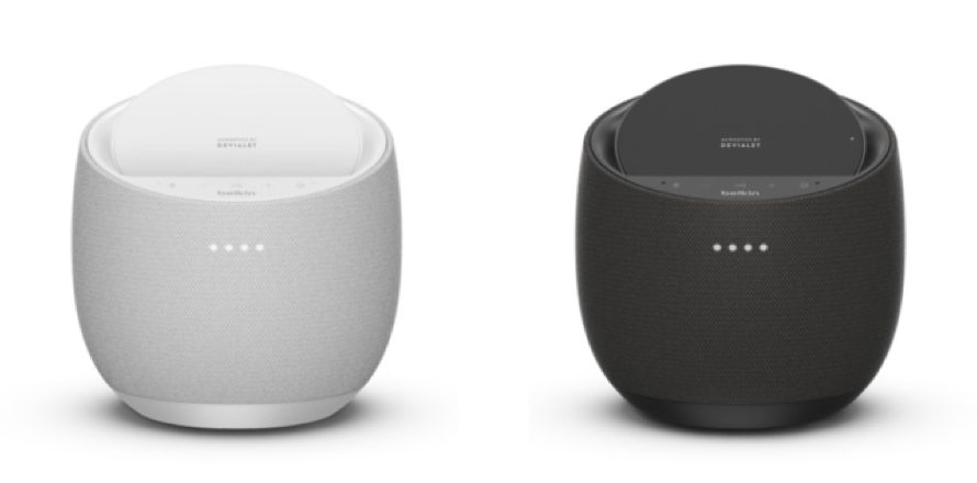 【新商品】ワイヤレス充電も可能なスピーカー『SOUNDFORM ELITE Hi-Fi スマートスピーカー』を、Belkinが発表