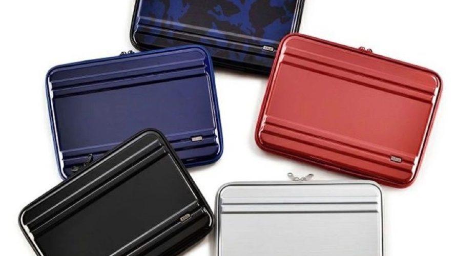 【新商品】ゼロハリバートンのスーツケースをモチーフにしたPCケースが新発売