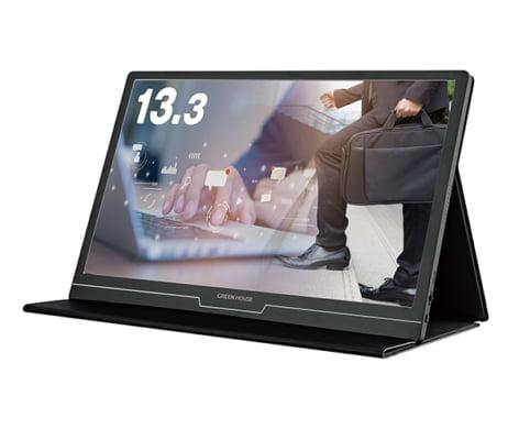 【新商品】持ち運びや収納に適したモバイルディスプレイ「GH-LCU13A-BK」の発売を発表
