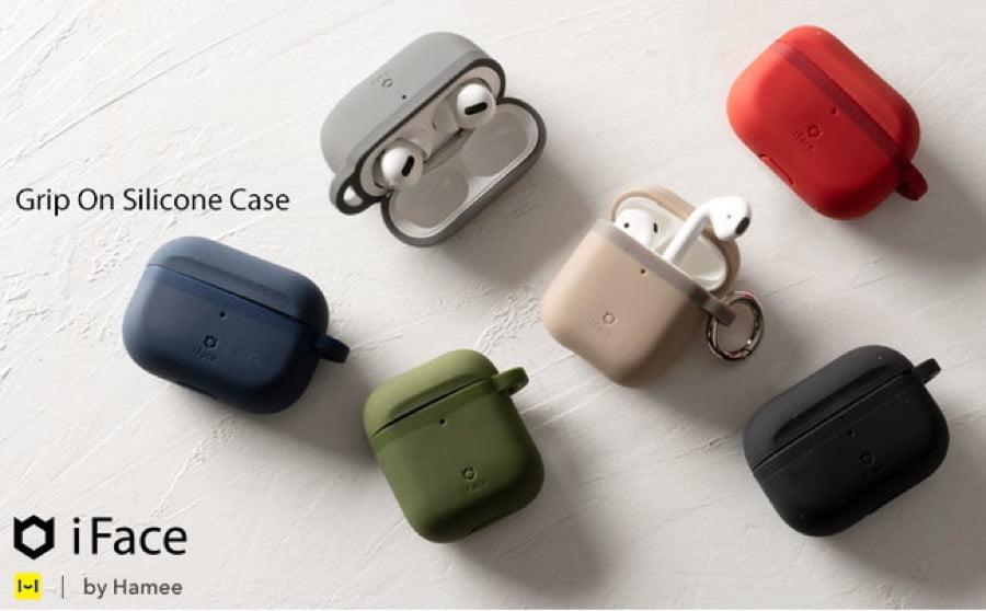 【新商品】「iFace」から待望のAirPodsケース、握りやすさを追求した「iFace Grip On Silicon ケース」が登場