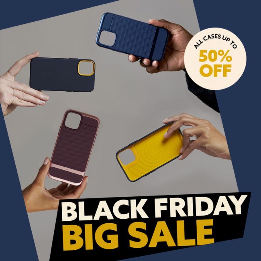 【セール】Caseologyが、アマゾン Black Friday で「最大50%割引キャンペーン」を実施