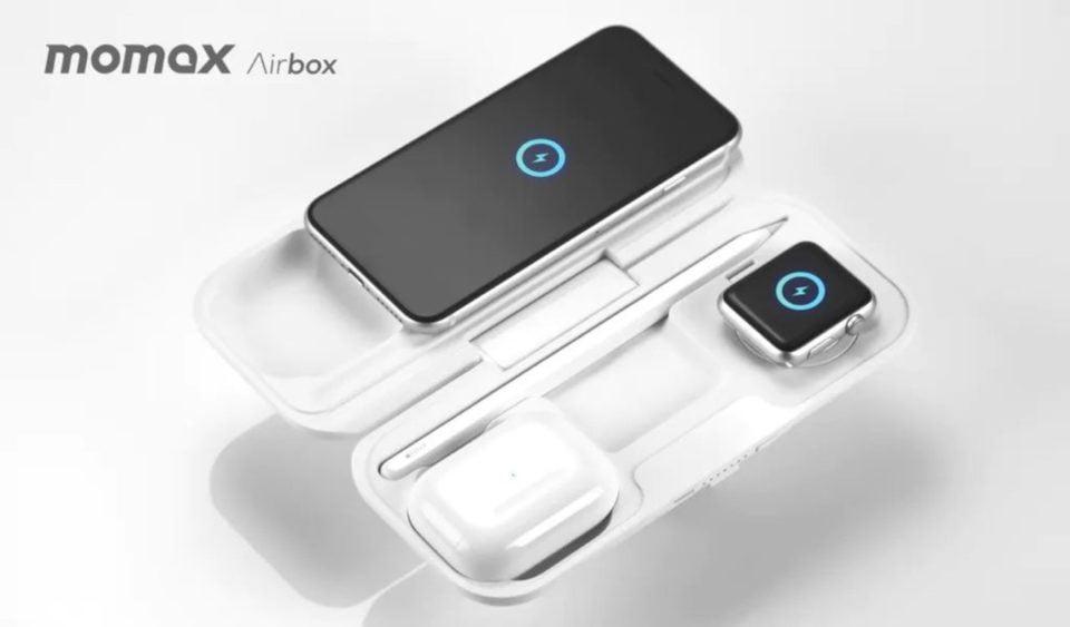 【新商品】世界初の折り畳みモバイルバッテリー「MOMAX Airbox」が、クラウドファンディング実施中