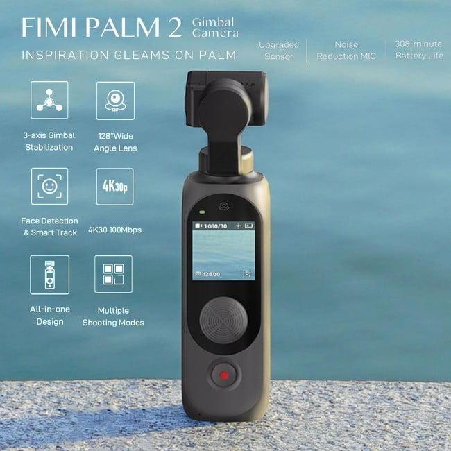 【新商品】Pergeaより、ジンバル付き小型カメラ「FIMI PALM 2」が発売