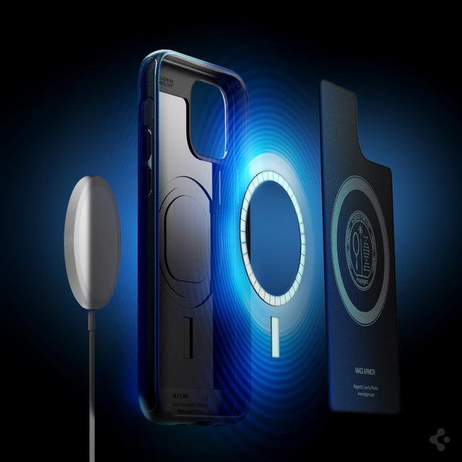 【新商品】 MagSafe対応ケース「マグ・アーマー(iPhone 12シリーズ対応)」が、Spigenより発売